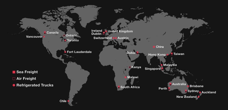 Sapro - Export Map